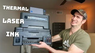 Best Printer for Home Use and Small Business? Inkjet Vs Laser Vs Thermal Printers