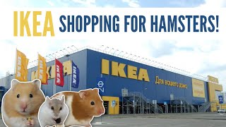 IKEA Shopping For Hamsters!