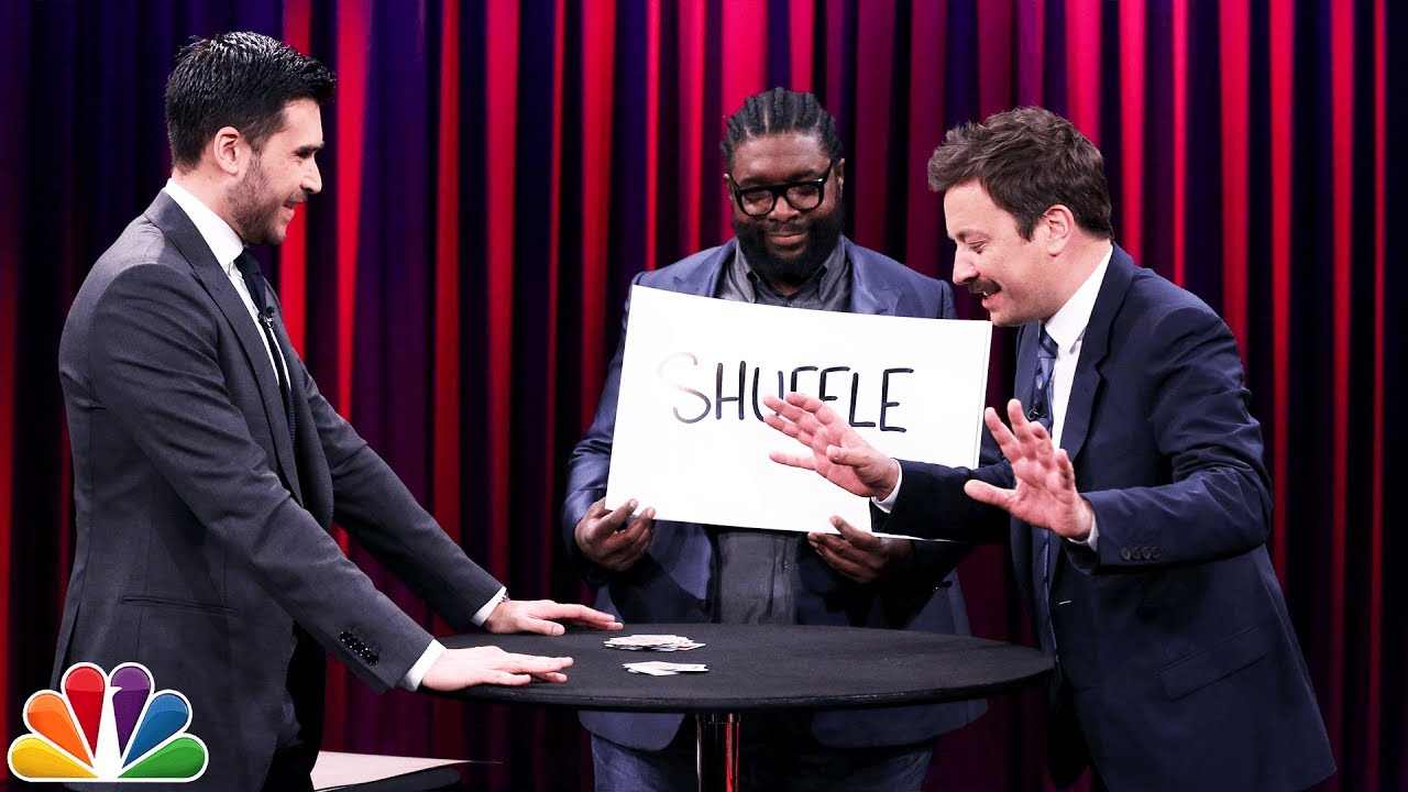Magician Dan White Freaks Out Jimmy and Questlove with a Time Traveling Card Trick thumbnail