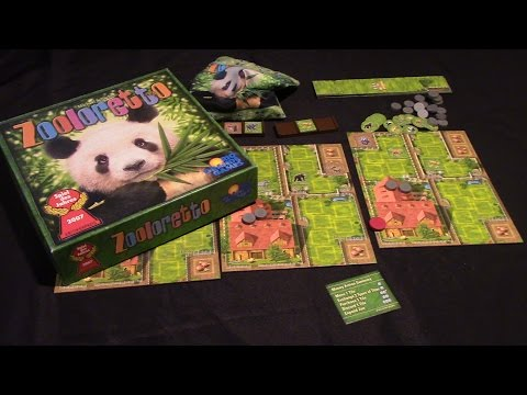 Jeremy Reviews It... - Zooloretto - Spiel des Jahres 2007