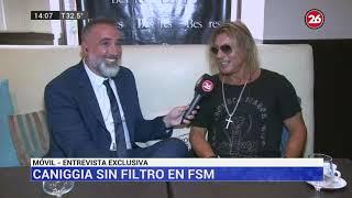 Canal 26 - Exclusivo: Caniggia Habló De Todo En Canal 26