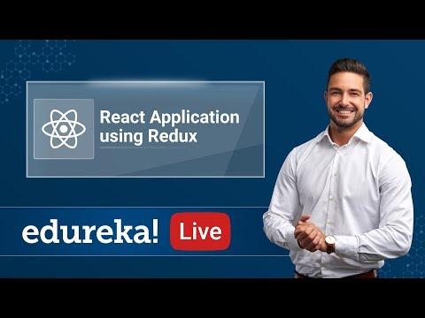 React Application using Redux | React Redux Training | Edureka - 4