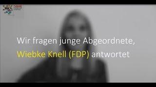 Video zu: Wir fragen Wiebke Knell von der Fraktion der FDP im Hessischen Landtag