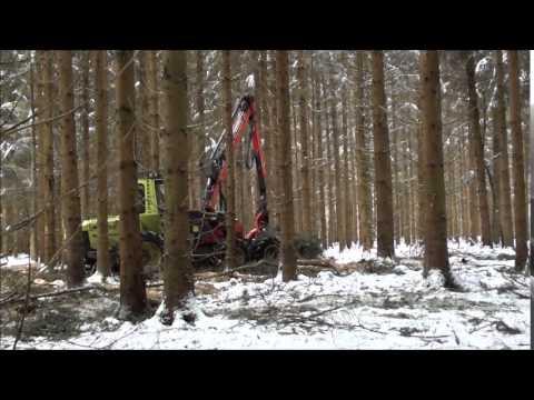 WF trac 6x6 Harvester M 160 H 100 EP und SP Maskiner 561