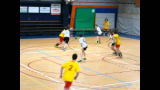 preview picture of video 'Le Mans Sarthe Handball VS Pouzauges Handball -15 Région'