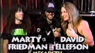 Vintage Headbangers Ball Interviews Cathouse 5th Megadeth Faster Pussycat Anthrax 1991 pt 1