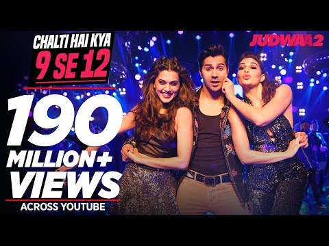 Download Chalti Hai Kya 9 Se 12 Song | Judwaa 2 | Varun | Jacqueline | Taapsee | David Dhawan | Anu Malik HD Video