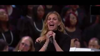 """Faith Hill """"What A Friend We Have In Jesus""""  Aretha Franklin's funeral Celebration Service"""
