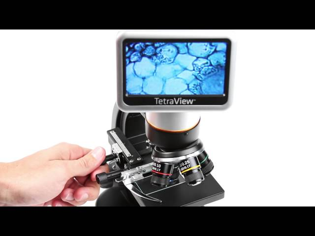 Celestron Tetraview LCD Digital Microscope - 44347