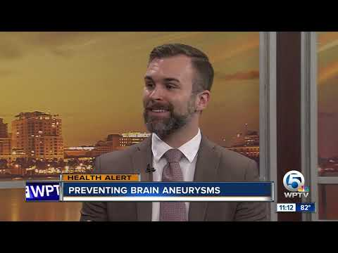 Can you prevent brain aneurysms?