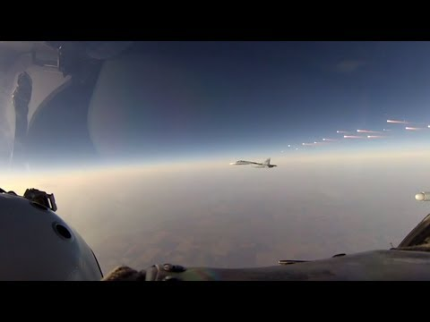Air Force repel a simulated attack above the south of Russia