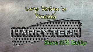How to Make 3D Logo|Logo|illustrator|Graphic designing|Fiverr|Upwork|Earn Money|Part-2 | Harry Tech