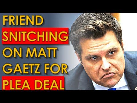 Matt Gaetz SOLD OUT by Joel Greenberg PLEA DEAL to Testify against him!