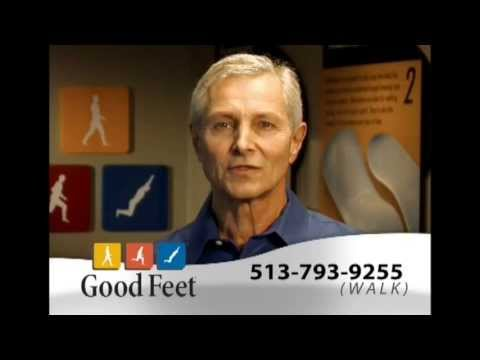 Good Feet arch supports orthotics insoles foot pain Cincinnati plantar fasciitis heel pain relief