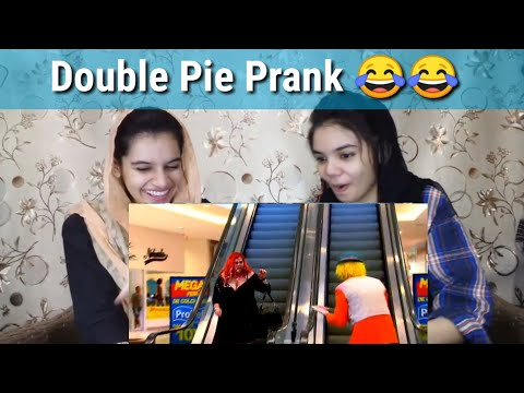Double Pie Prank Can't Stop laughing  Pakistani Reaction 
