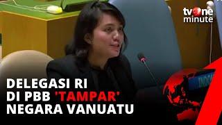 FULL STATEMENT! Delegasi RI ke Vanuatu di PBB: Simpan Nasihat Itu untuk Negara Anda Sendiri!