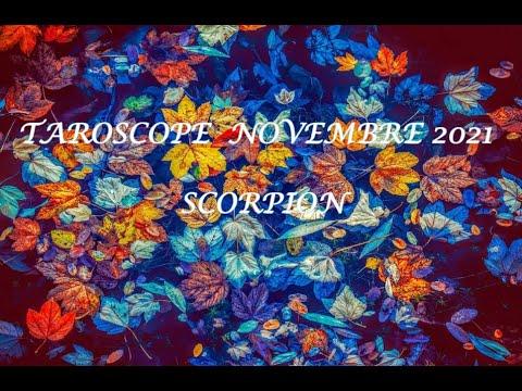 TAROSCOPE SCORPIONNOVEMBRE 2021