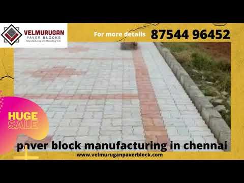 Conventional paver block