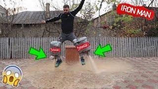 COCA COLA JET ROCKET vs GAZ (am zburat 😮)