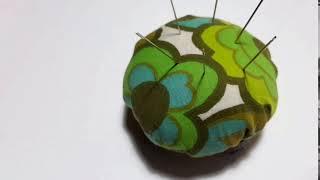 easy to make- pincushion * poduszeczka na igły i szpilki