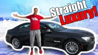 BMW 750i Review!! From A Tall Guys Perspective..