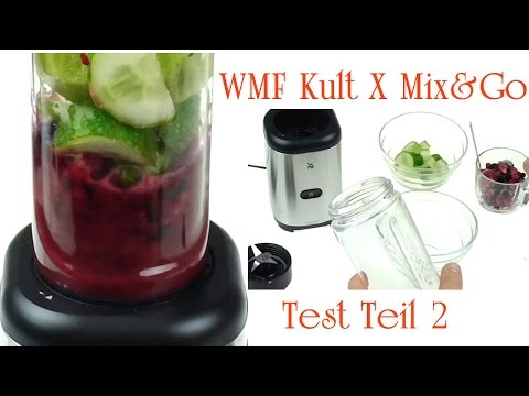 Produkt Test 2 | WMF KULT X Mix&Go | Roter Smoothie Rezept - How To