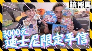 【限定】3000元!迪士尼伴手禮手信開箱