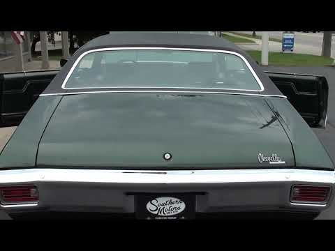Video of '70 Chevelle - QD3Y