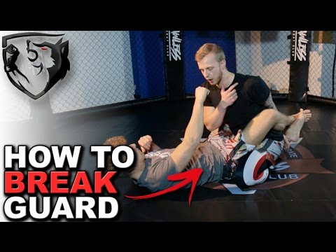 3 Ways to Break Your Opponent's Guard For MMA/BJJ