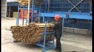 Сортировка пиломатериалов 25 Лесозавод