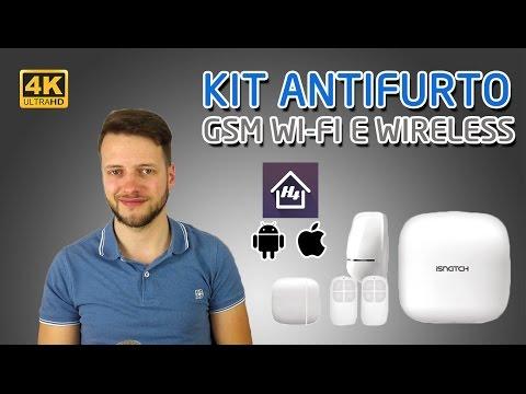 ANTIFURTO WIRELESS davvero smart - GSM e WIFI con APP | iSnatch smartdefense