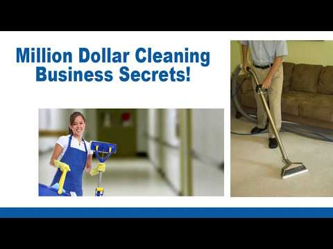 Million Dollar Cleaning Business Ideas