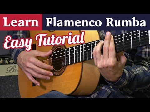 Learn Flamenco Rumba on guitar - Easy Strumming tutorial in 3 steps