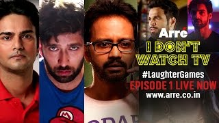 I Don't Watch TV   Episode 1 – Inglorious Constipated Basturds   #LaughterGames