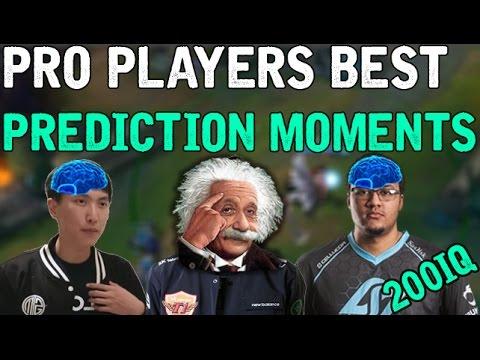 Pro Players BEST PREDICTION MOMENTS! (League of Legends)