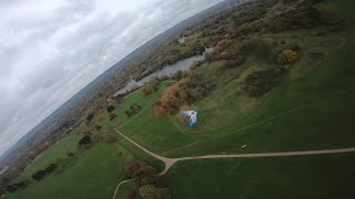 Fpv wing chasing at mote park