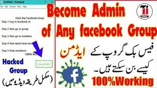 How to become admin of any Facebook page without admin