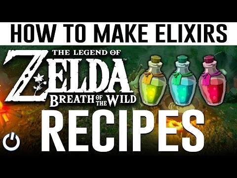Video HOW TO MAKE EVERY ELIXIR - Zelda Breath of the Wild (ALL RECIPES GUIDE)