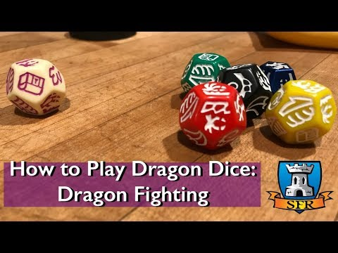 How to Play Dragon Dice 4.0 - Core Rules - Dragon Fighting