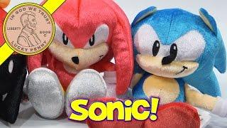 Sonic The Hedgehog 25th Anniversary Throwback Plush Toys
