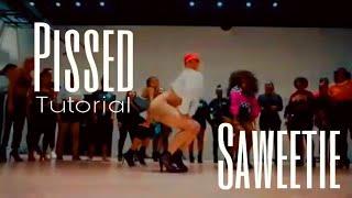 Pissed  Saweetie Tutorial | Queens N Lettos