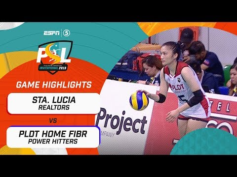 [Sport5]  Highlights: Sta. Lucia vs. PLDT Home Fibr | PSL Invitational Conference 2019