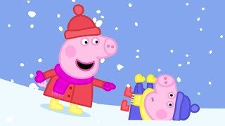 Peppa Pig English Episodes   Peppa Pig has Fun in the Snow   Peppa Pig Official