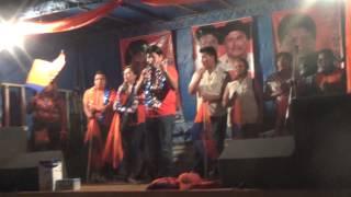 preview picture of video 'proclamacion en el BARRIO GUADALUPE - marcial rengifo ejecutivo seccional de yacuiba TPT'