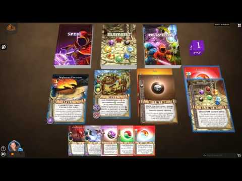 Learn to Play Magicka Mayhem Card Game: Tutorial Video #6 - Discarding Unwanted Cards