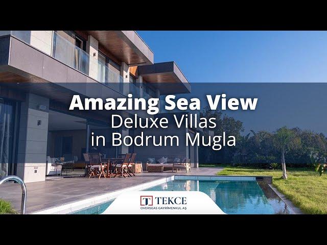 Stunning Sea View Luxurious Villas in Yalikavak Mugla