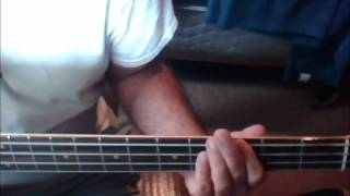 Thin Line Between Love and Hate (Bass Cover)