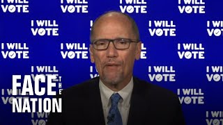 DNC Chair Tom Perez sees enthusiasm for Democrats in early-vote numbers