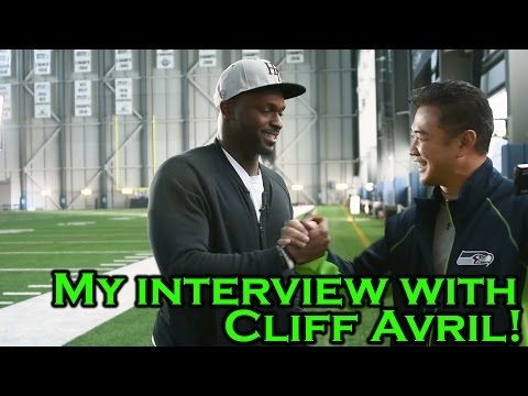 One-on-one interview with Cliff Avril (Seahawks defensive end)