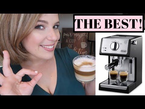 , De'Longhi ECP3420 15″ Bar Pump Espresso and Cappuccino Machine, Black